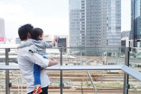 子鉄ママ必見!男の子ママがおすすめする、電車の見えるスポット【銀座・丸の内】