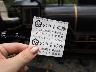 【子連れ日帰り旅行】300円で遊びつくせる遊園地と小田原城を子供と一緒に楽しむ