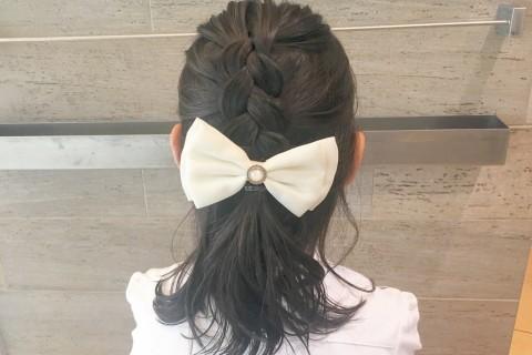 YouTubeで話題の美容師が教える!【子供ヘアアレンジ】お誕生日会、入学式、卒園式