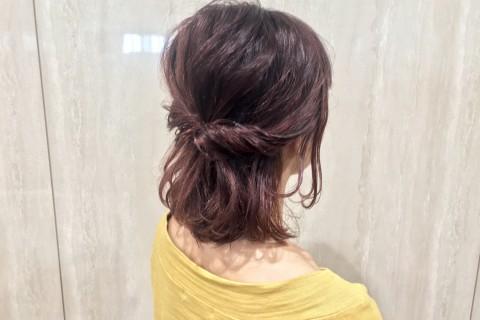 YouTubeで話題の美容師が教える!ボブの濡れ髪ヘアアレンジ