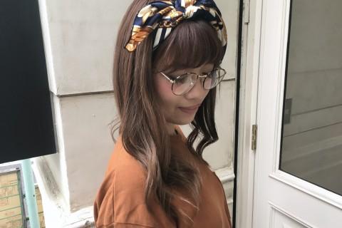 YouTubeで話題の美容師が教える!ドラマ「地味にスゴイ!」石原さとみさん風スカーフヘア