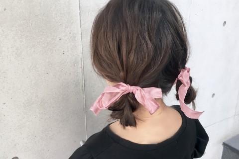 YouTubeで話題の美容師が教える!石原さとみさん風 おさげヘアアレンジ