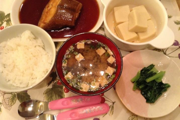 ご主人のお料理は和食が中心