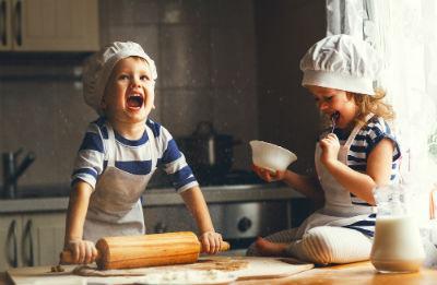 1歳の誕生日に手作りケーキ