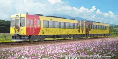 キャラクター列車