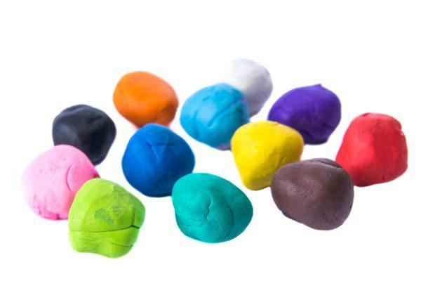 100均の粘土&粘土型