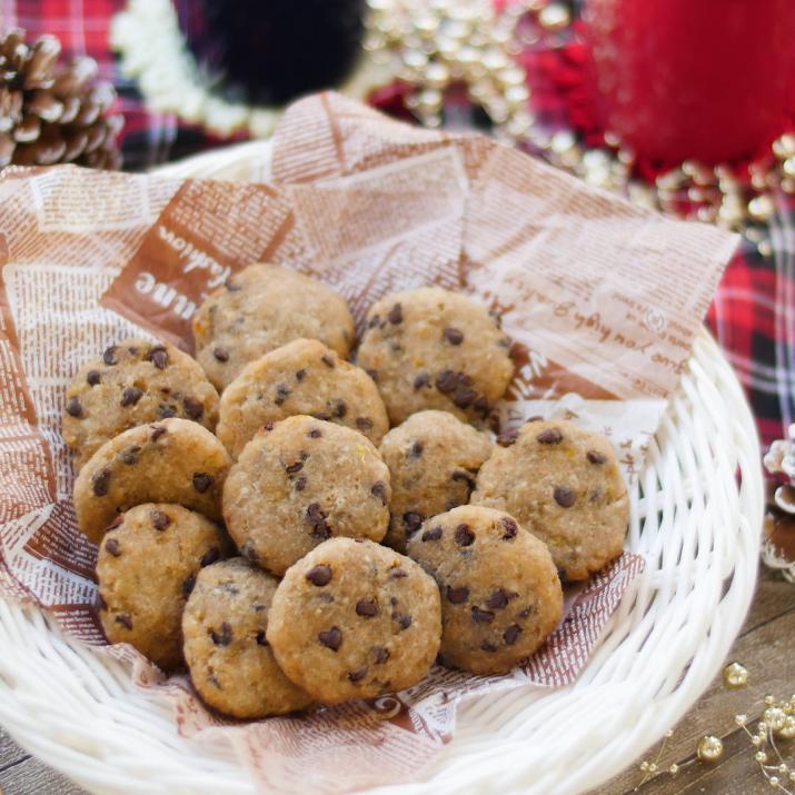 小麦粉いらない!材料4つの「チョコチップソフトクッキー」