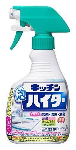 キッチン泡ハイター 台所用漂白剤 本体 400ml